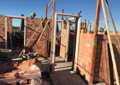 bouwplaats wei bovenverdieping binnenwerk sprangers metselwerk en meer