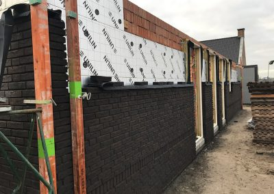 bouwplaats wei buitenwerk sprangers metselwerk en meer
