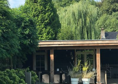 bouw tuinhuis marcel sprangers metselwerk en meer