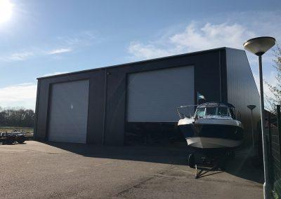 loods jachthaven Scharloo sprangers metselwerk buitenkant voor