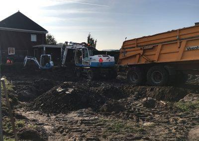 uitgraven fundering wei sprangers metselwerk en meer