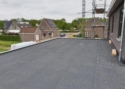 plat dak aanbouw wei sprangers metselwerk en meer
