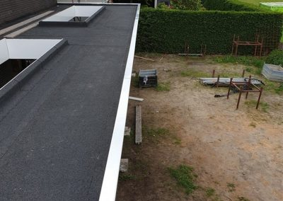 plat dak veranda wei sprangers metselwerk en meer