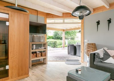 tuinhuis sauna
